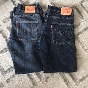 Levi's Boys Jeans Bundle